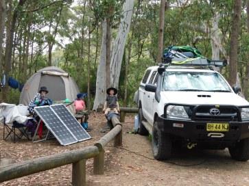 Crankin some solar at Kaputar