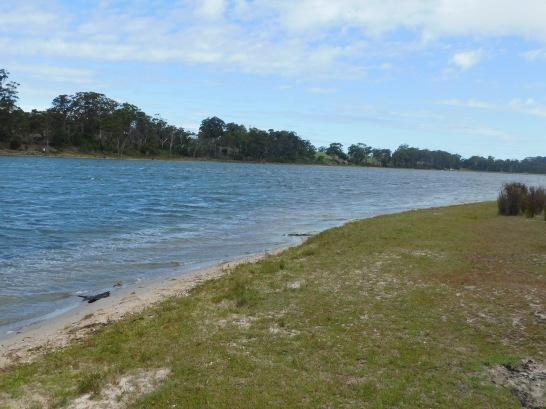 Great fishing spot Lake Tyer