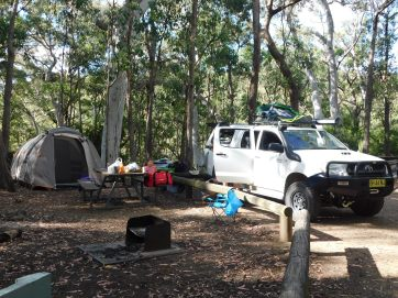 Kaputar campsite