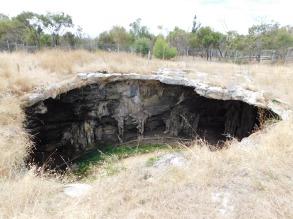 Narracorte caves so close underground