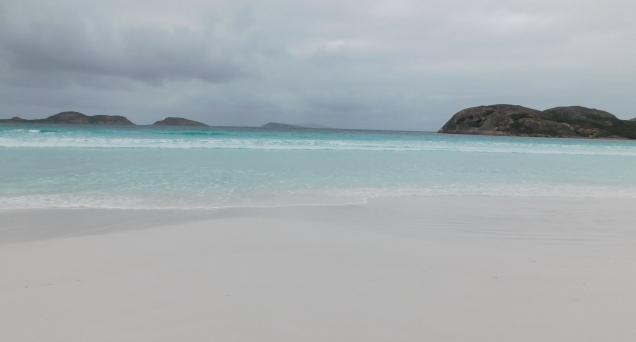 Esperance Lucky Bay beach