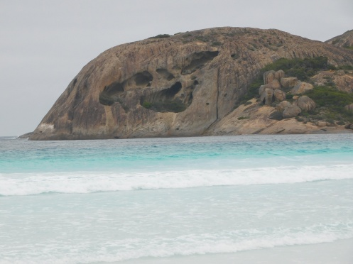 Esperance Lucky bay rock formations
