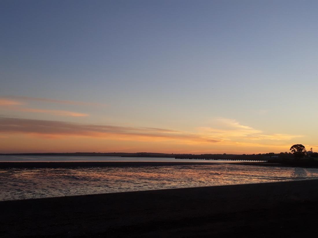 streaky sunrise