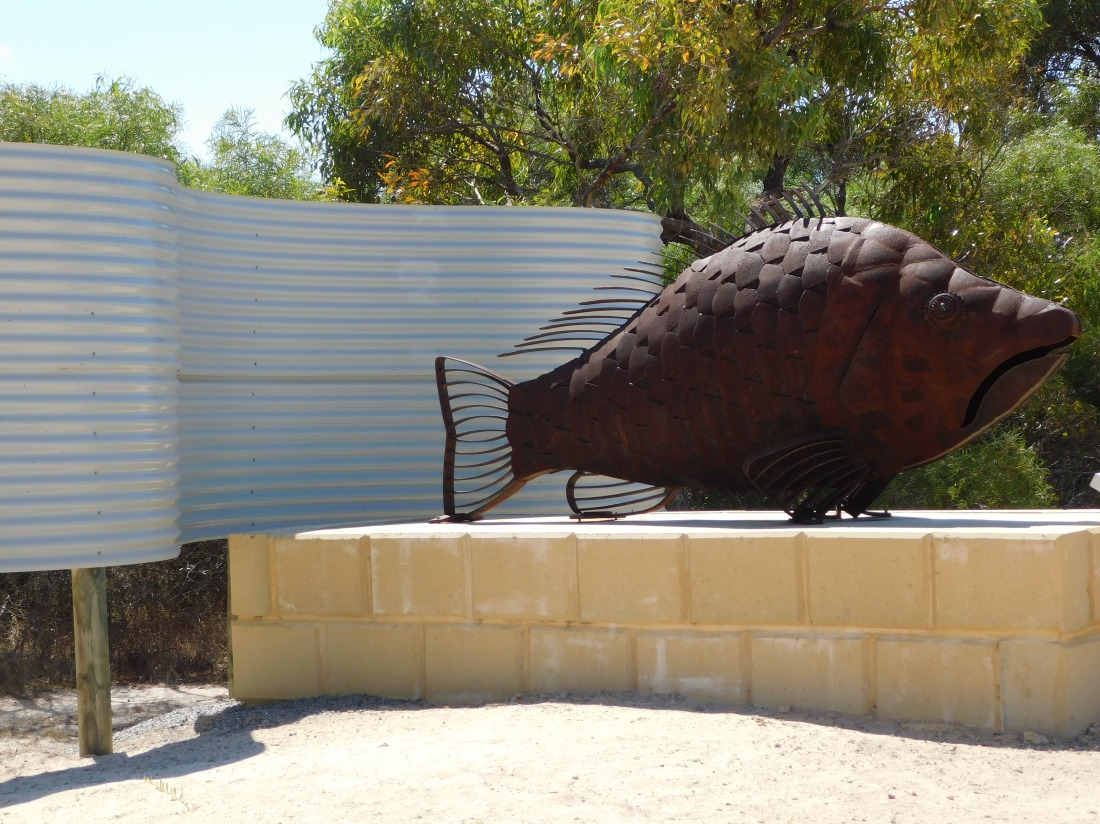 Cervantes the Big rusty fish thingy
