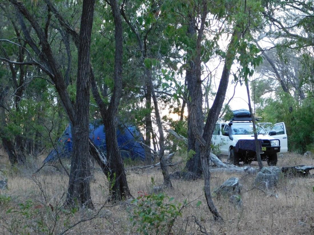 Myalup bush camp