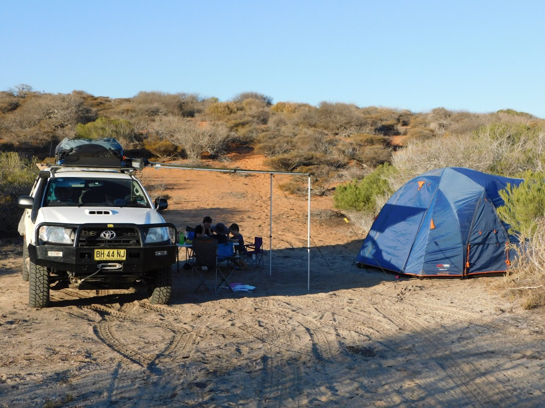 New Beach campsite