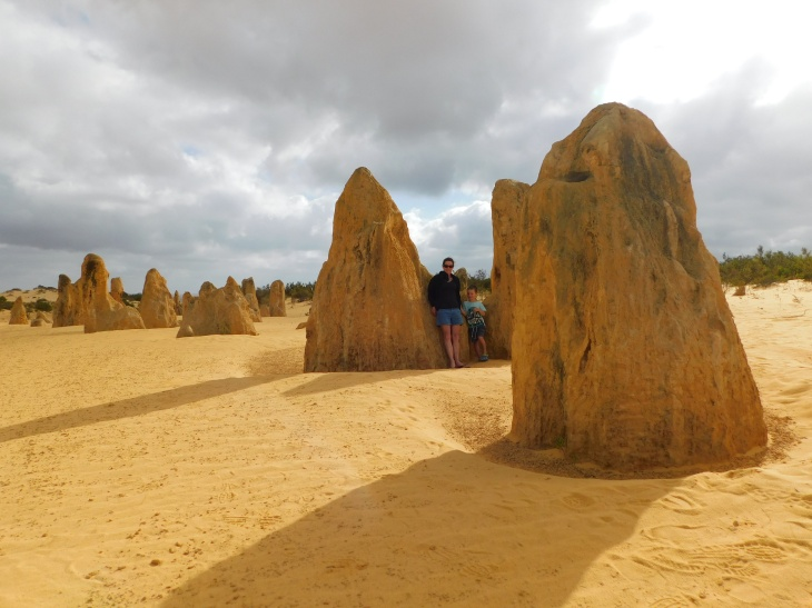 Pinnacles A and C