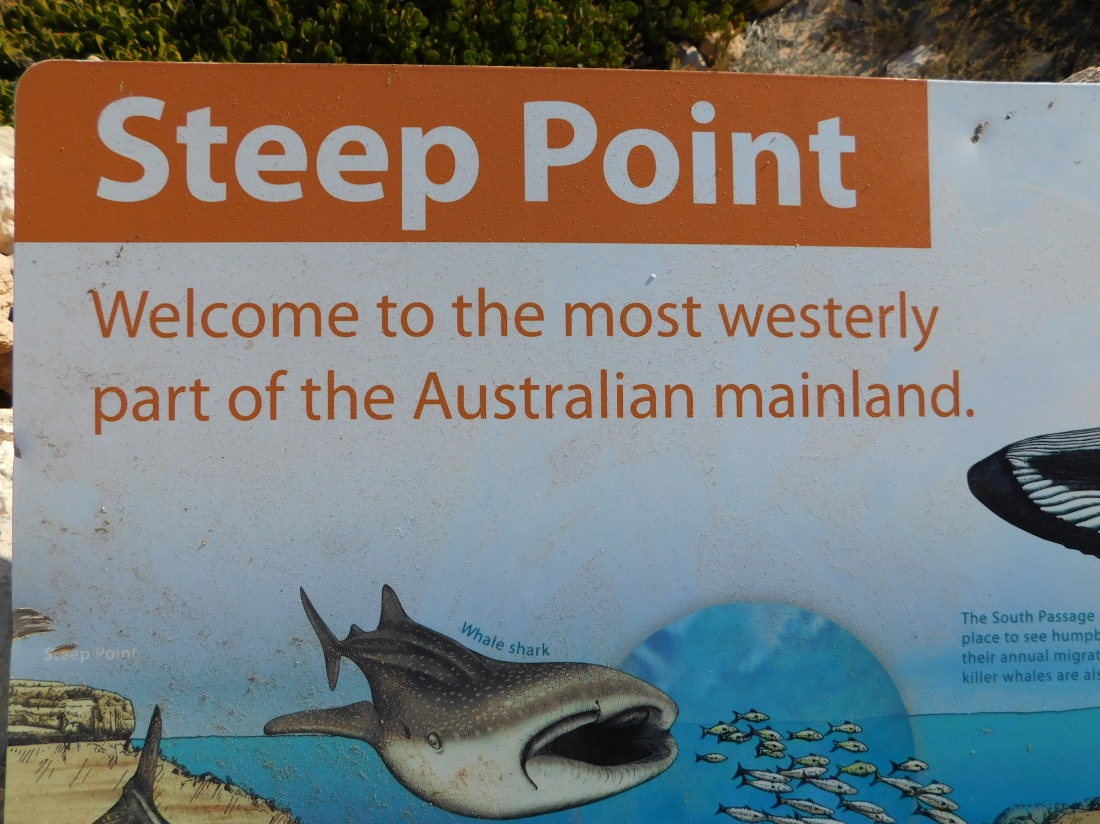 Steep point sign