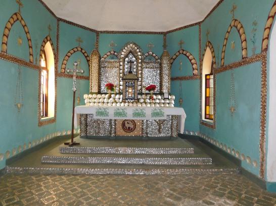Cape leveque beagle bay church altar