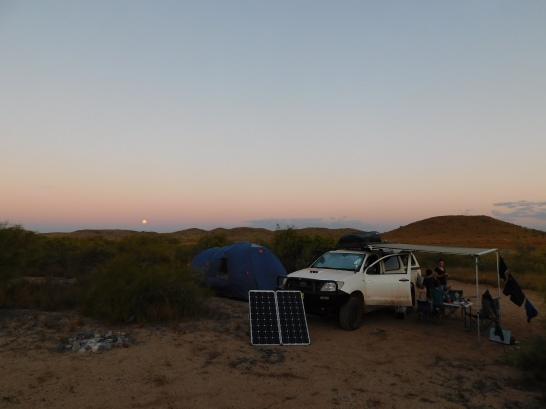Cleaverville Beach camp2