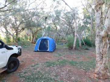 De Grey campsite riverside