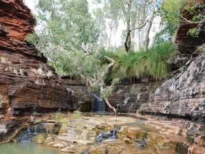 Karajini waterfall