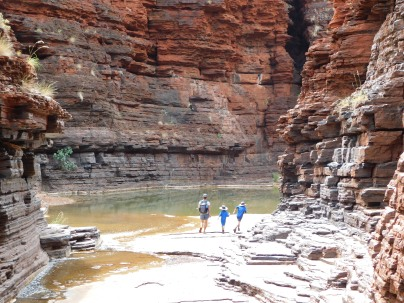 Karijini ALC gorge walking