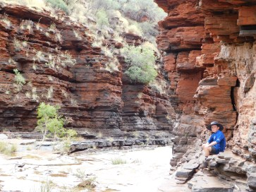 Karijini Lach in the gorges