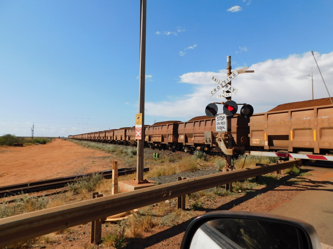 Port Hedland rail crossing