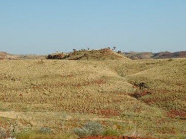 Python Pool red earth and spinifex