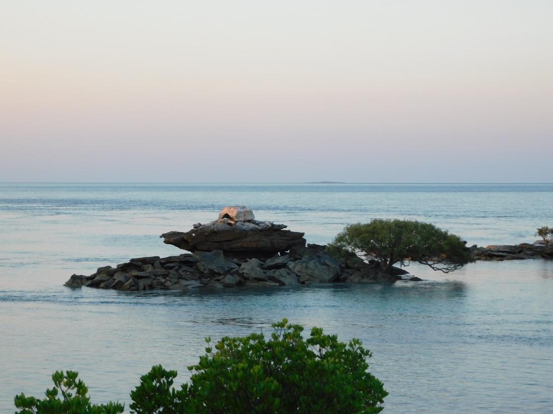 Cape Lev fishing spot island