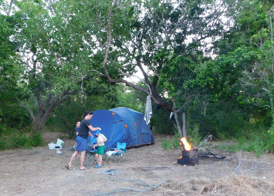 Cape Lev Gumbanan camp