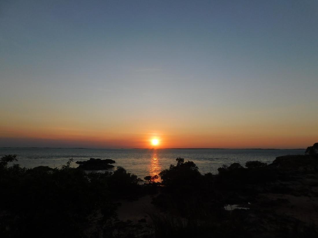 Cape Lev gumbanan sunrise