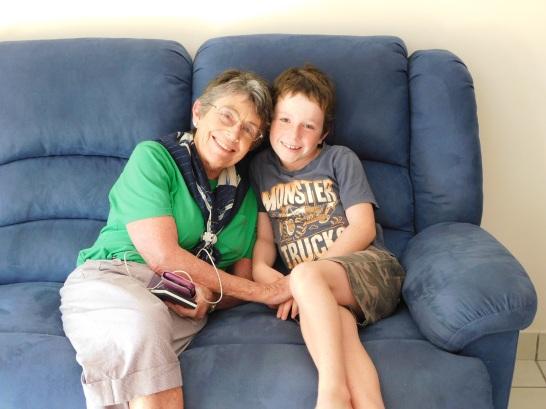 Darwin Lachie and Grandma
