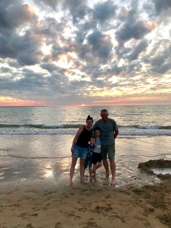 darwin mindle beach sunset