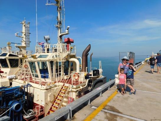 Darwin Waterfront Tug Boat
