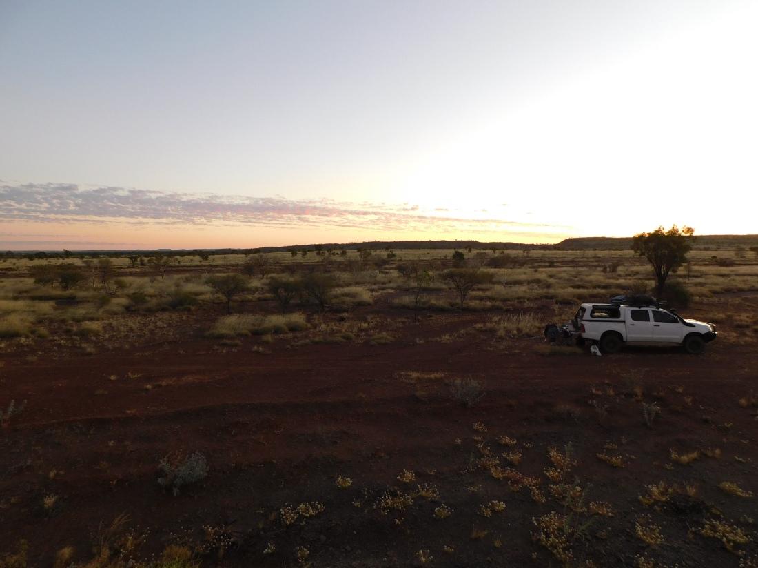 Duncan Road Camp Sunset