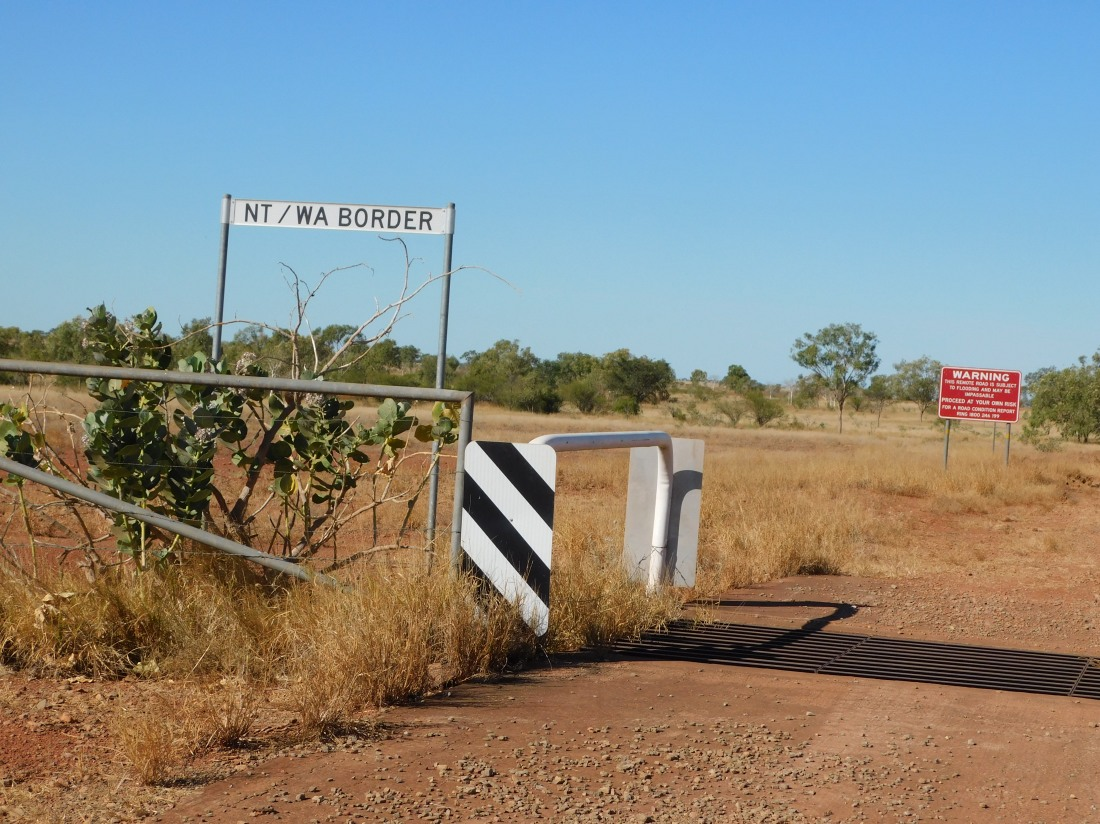 Duncan Road -weaving in and out of NT from WA