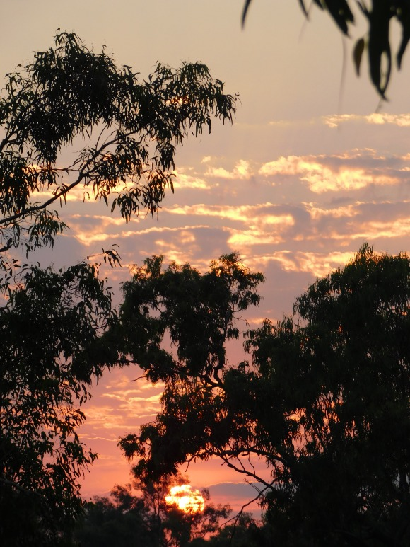 GRR Lennard River sunset