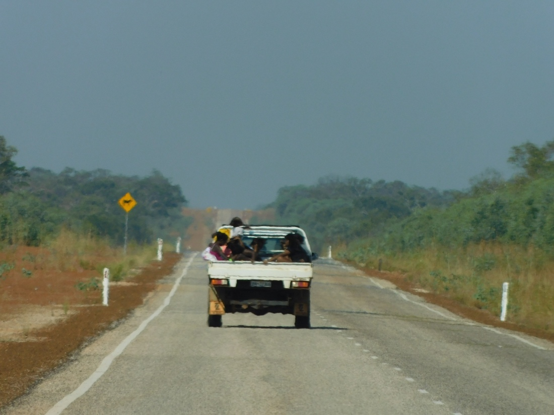 GRR locals packed in a ute