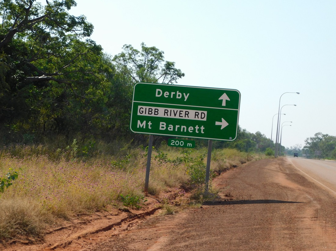 GRR road sign