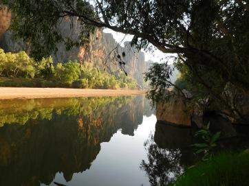 GRR Windjana Gorge reflections