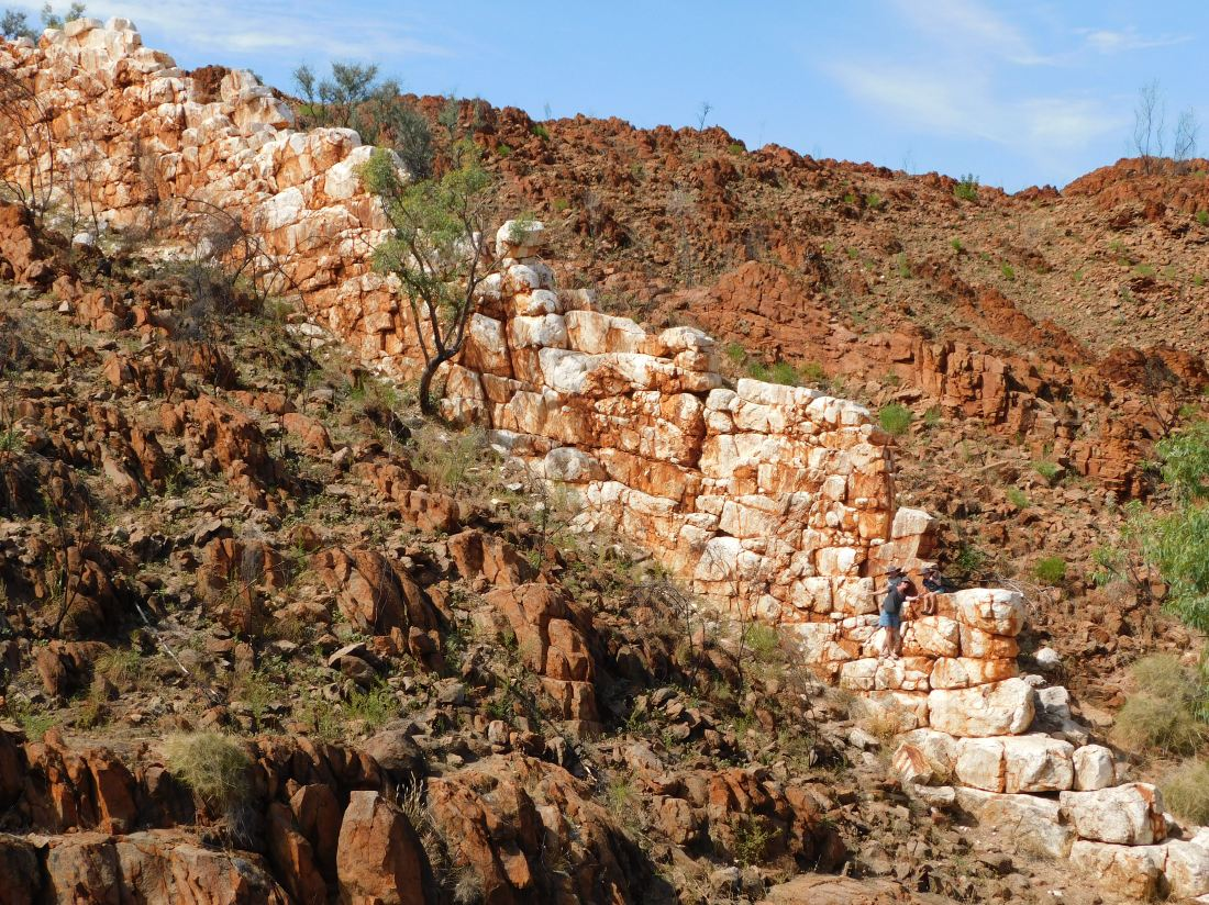 Halls Creek Great Wall family climb