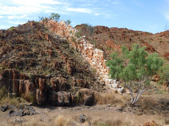 Halls Creek Great Wall Granite outcrop