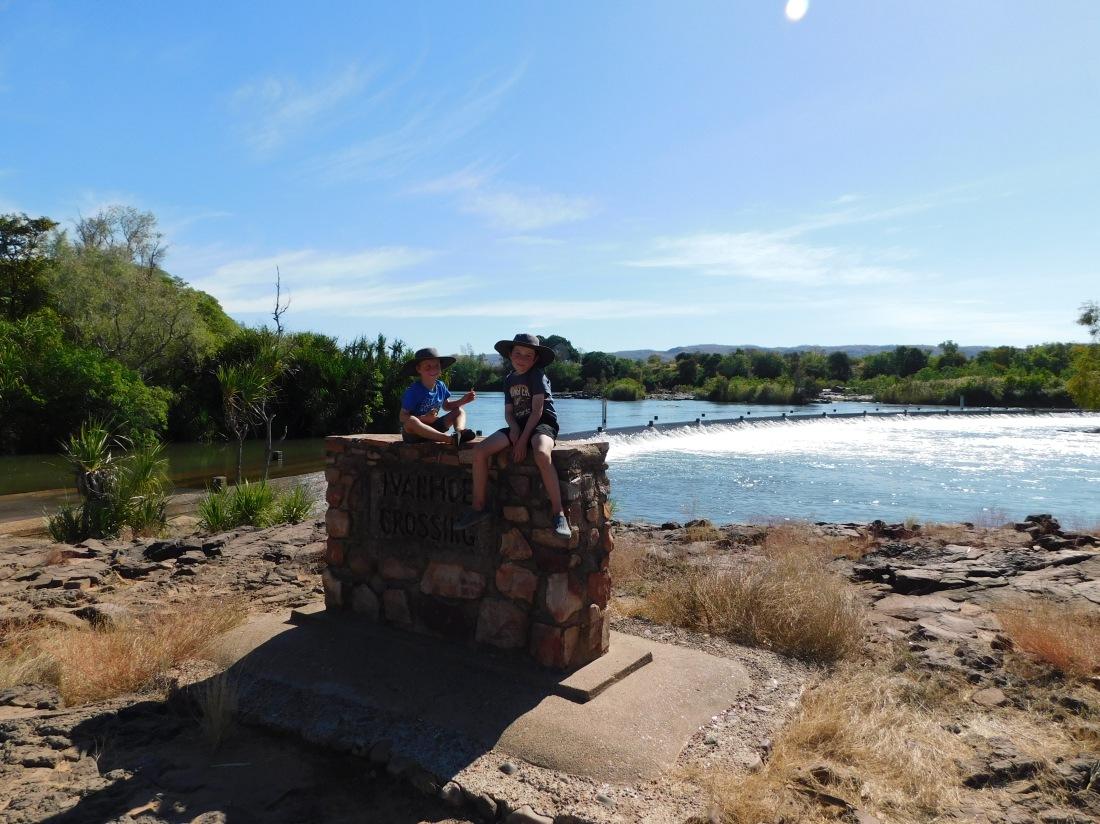 Ivanhoe River Crossing Kunnauarra