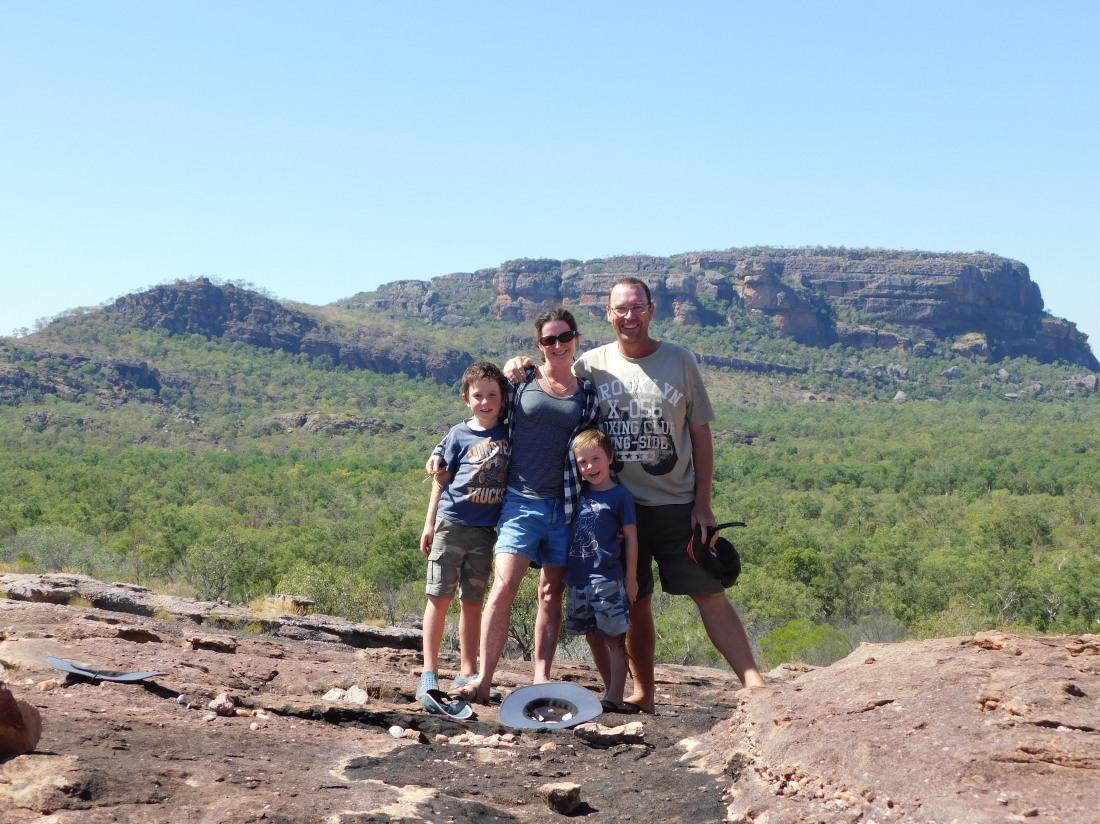 Kakadu Family Pic near Nourlangi
