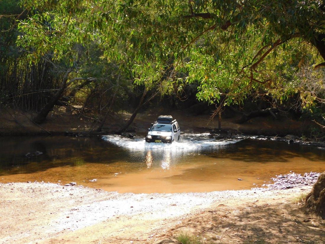 Kakadu Old Jim Jim Road Crossing of South Alligator River