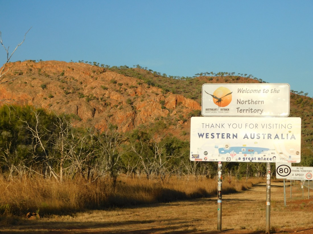 NT Welcome Sign