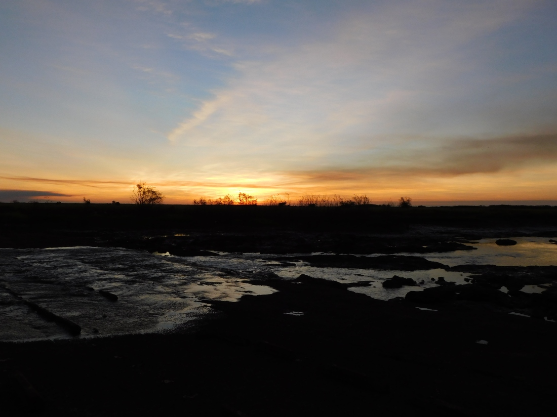 Shady Camp Barrage Sunset