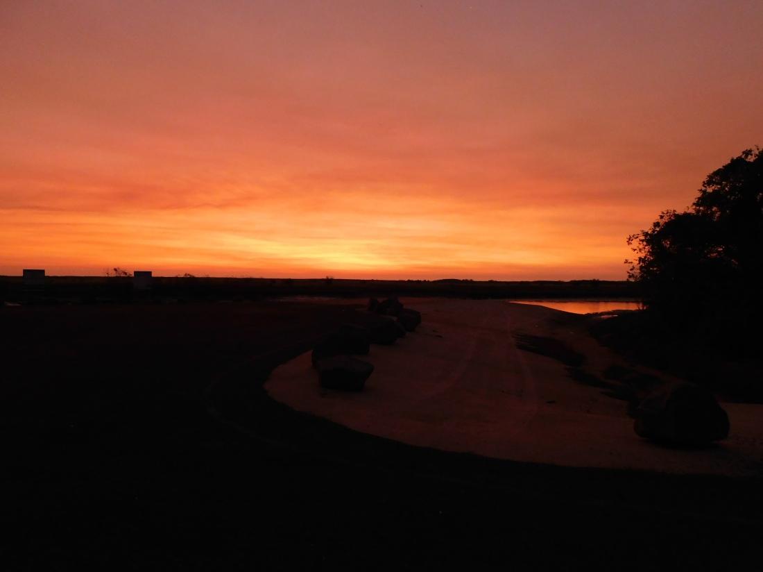 Shady Camp Sunset