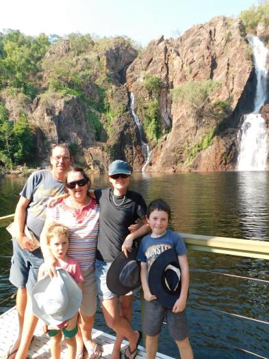 Wangi Falls Family Pic