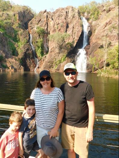 Wangi Falls with Jess and Nath