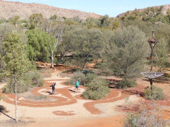 Alice Springs Botanic Garden