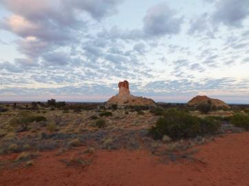 Chambers Pillar-sunrise