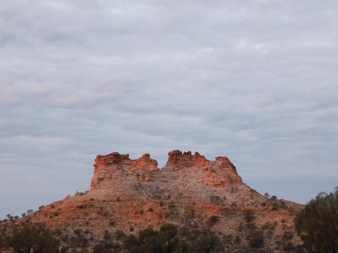 Chambers Pillar- sunset (2)