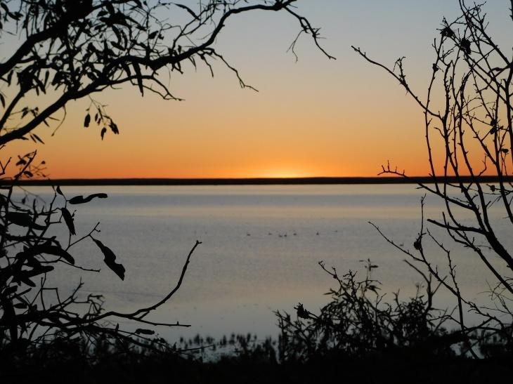 Coongie Lake- sunset (2)