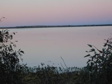 Coongie Lake- sunset