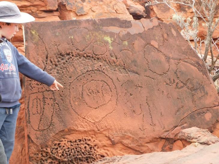 Ewinga Petroglyphs