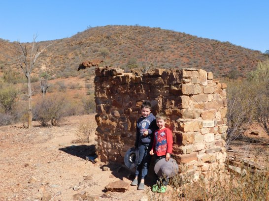 Gammon Ranges ruins