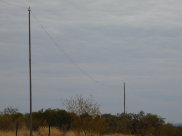 Ghan- old telegraph line